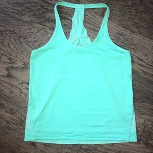 Lululemon Mesh Racer Back Tank Top